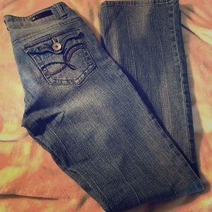 Sz 7 L.e.i. Jeans